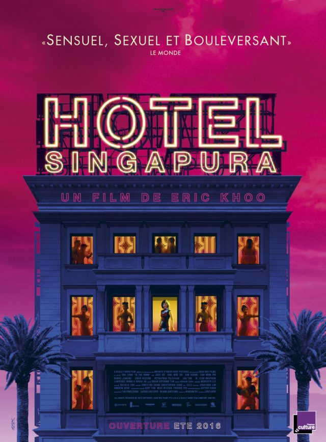 Affiche HOTEL SINGAPURA