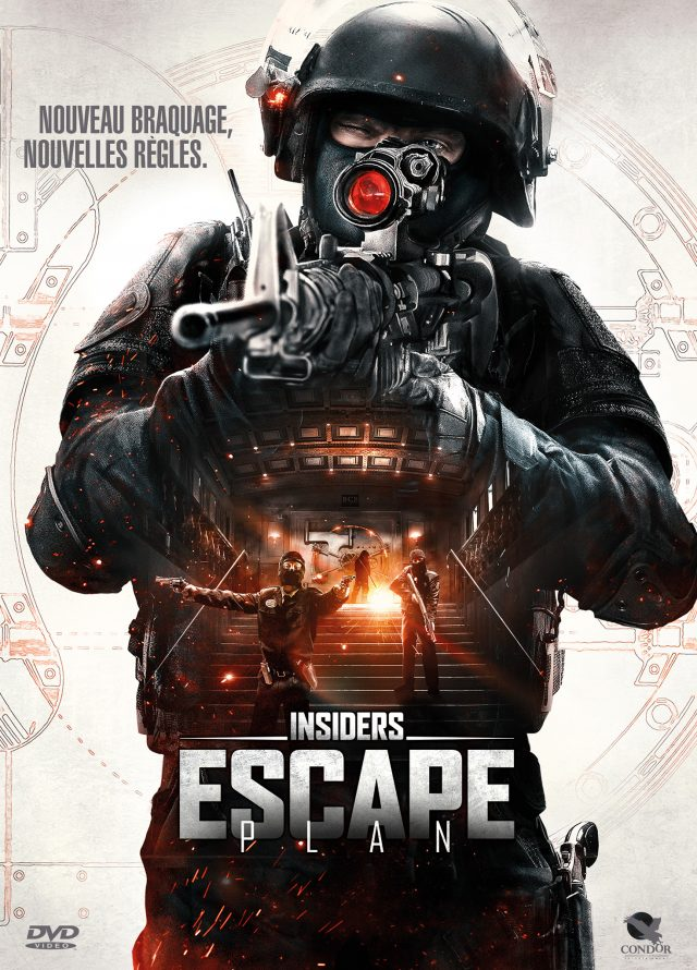 Affiche INSIDERS : ESCAPE PLAN