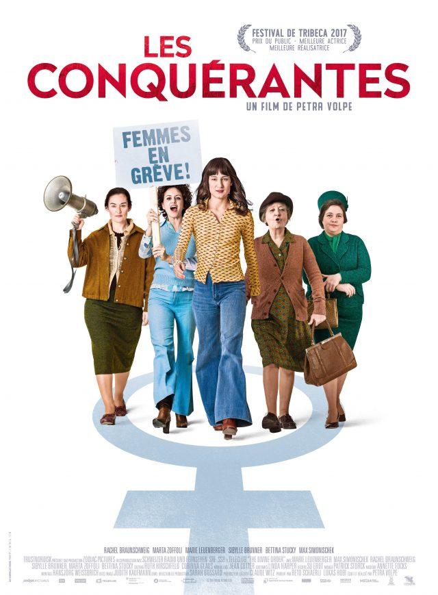 Affiche LES CONQUÉRANTES