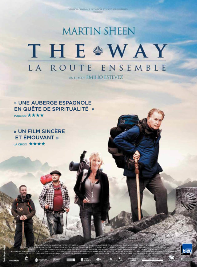 Affiche THE WAY, LA ROUTE ENSEMBLE