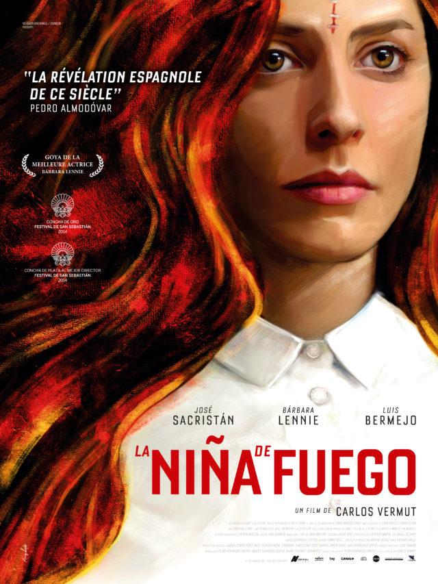 Affiche LA NINA DE FUEGO