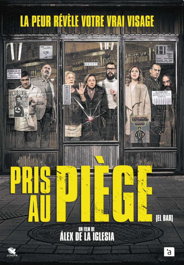 Affiche PRIS AU PIÈGE (EL BAR)