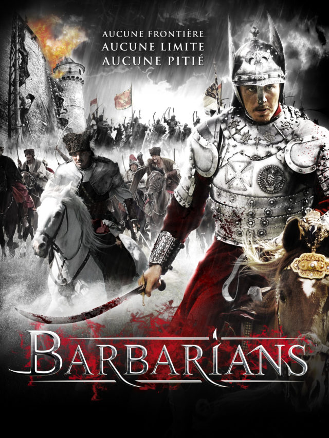 Affiche BARBARIANS