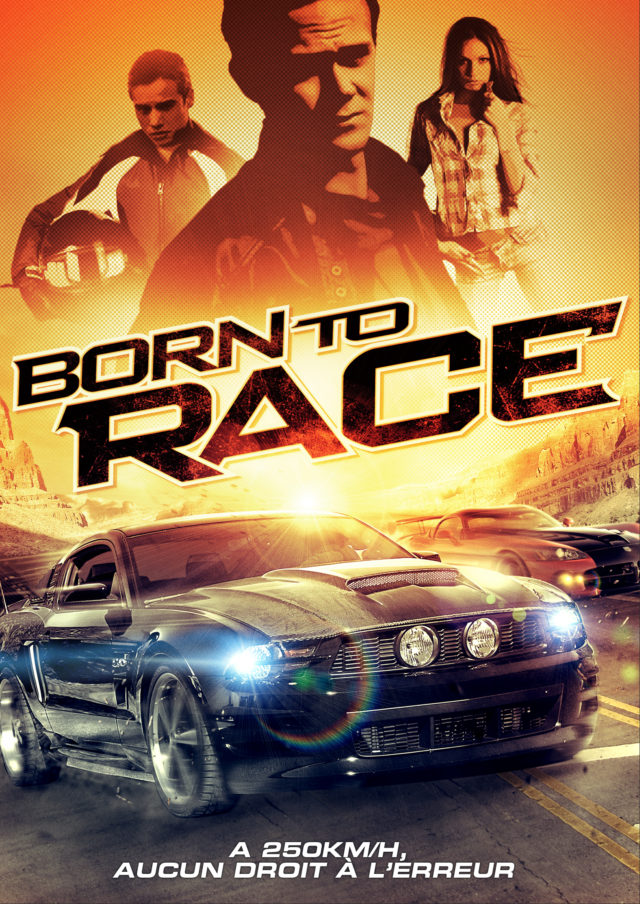 Affiche BORN TO RACE