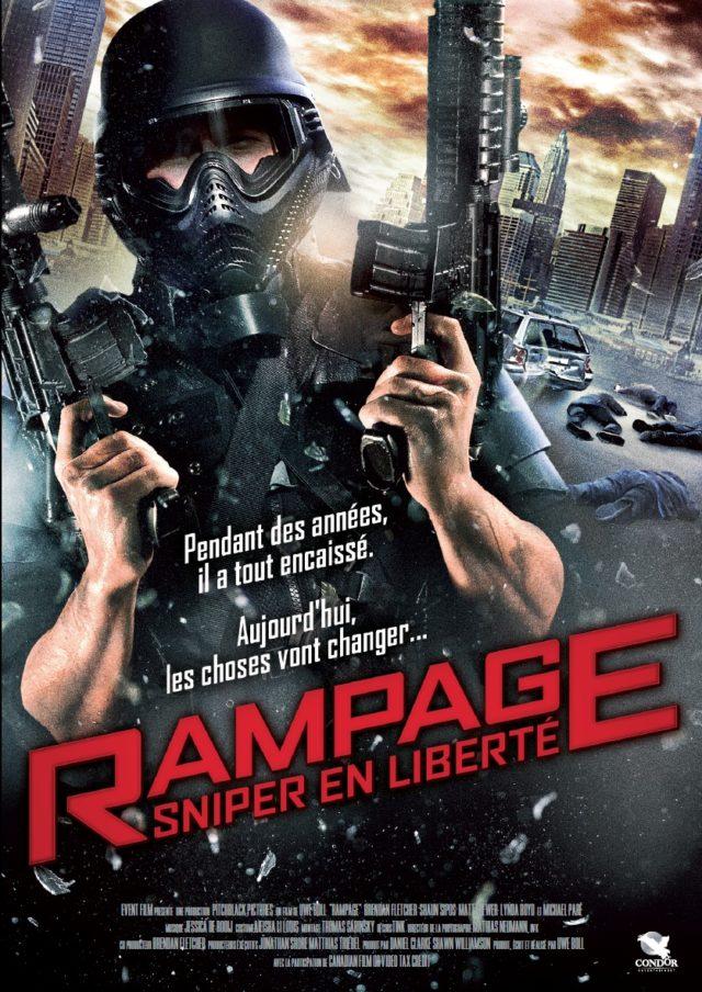 Affiche RAMPAGE