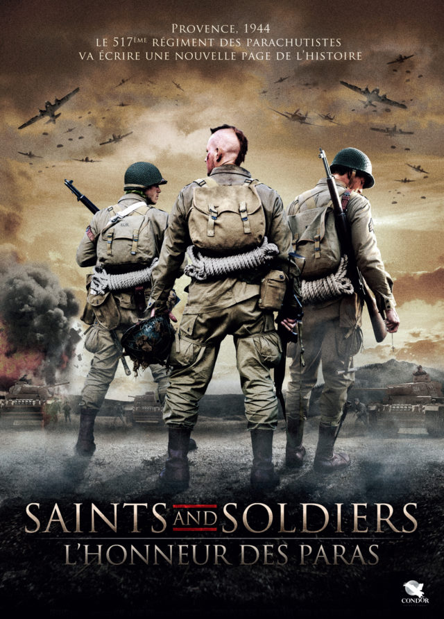 Affiche SAINTS AND SOLDIERS : L'HONNEUR DES PARAS