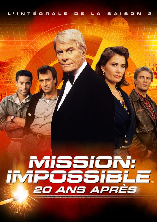 Affiche MISSION : IMPOSSIBLE, 20 ANS APRÈS SAISON 2