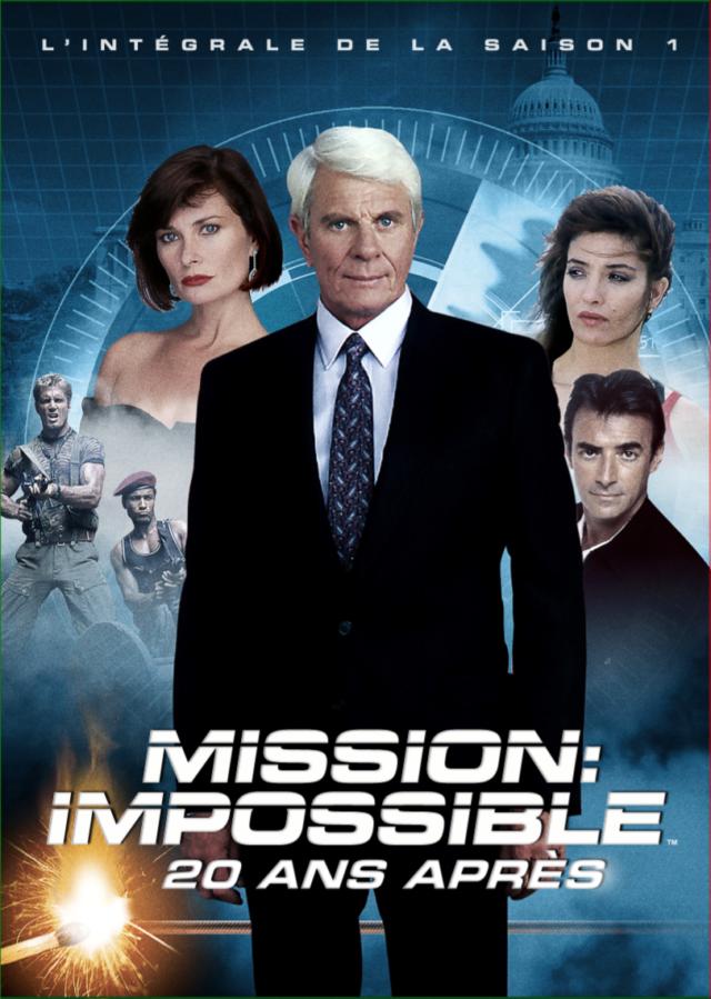 Affiche MISSION : IMPOSSIBLE, 20 ANS APRÈS SAISON 1