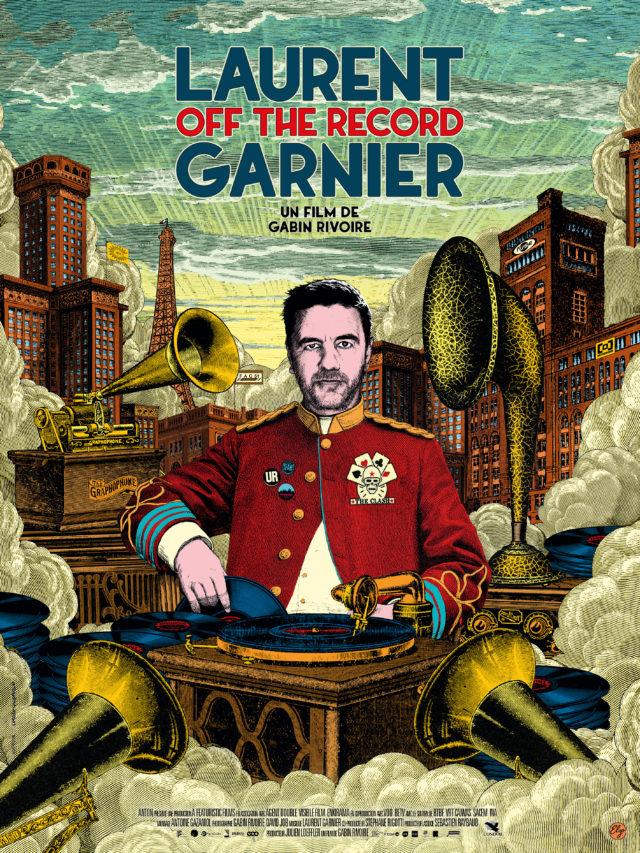 Affiche LAURENT GARNIER : OFF THE RECORD